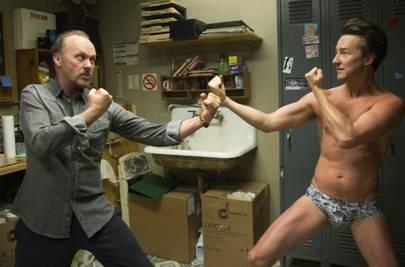 "44. Michael Keaton (Doing ""a McConaughey"")"