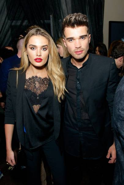 Chloe Lloyd and Josh Cuthbert