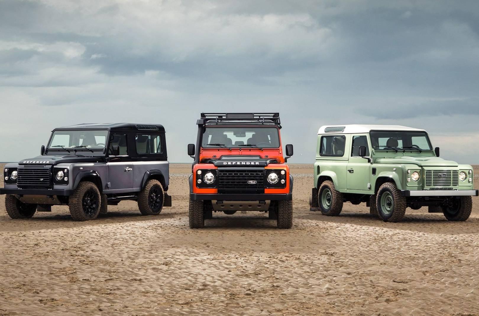Land Rover Defender History British Gq