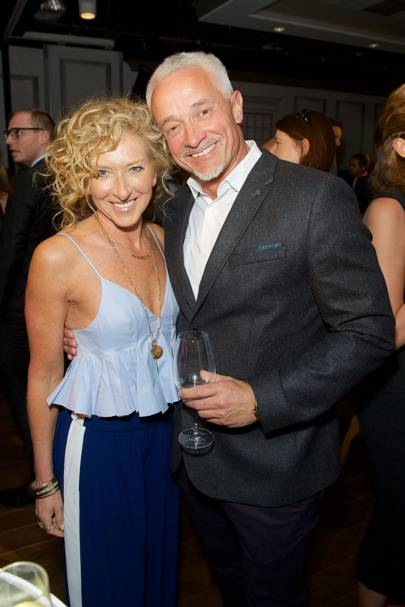 Kelly Hoppen and John Gardiner