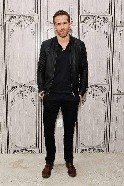 5. You need a leather bomber jacket