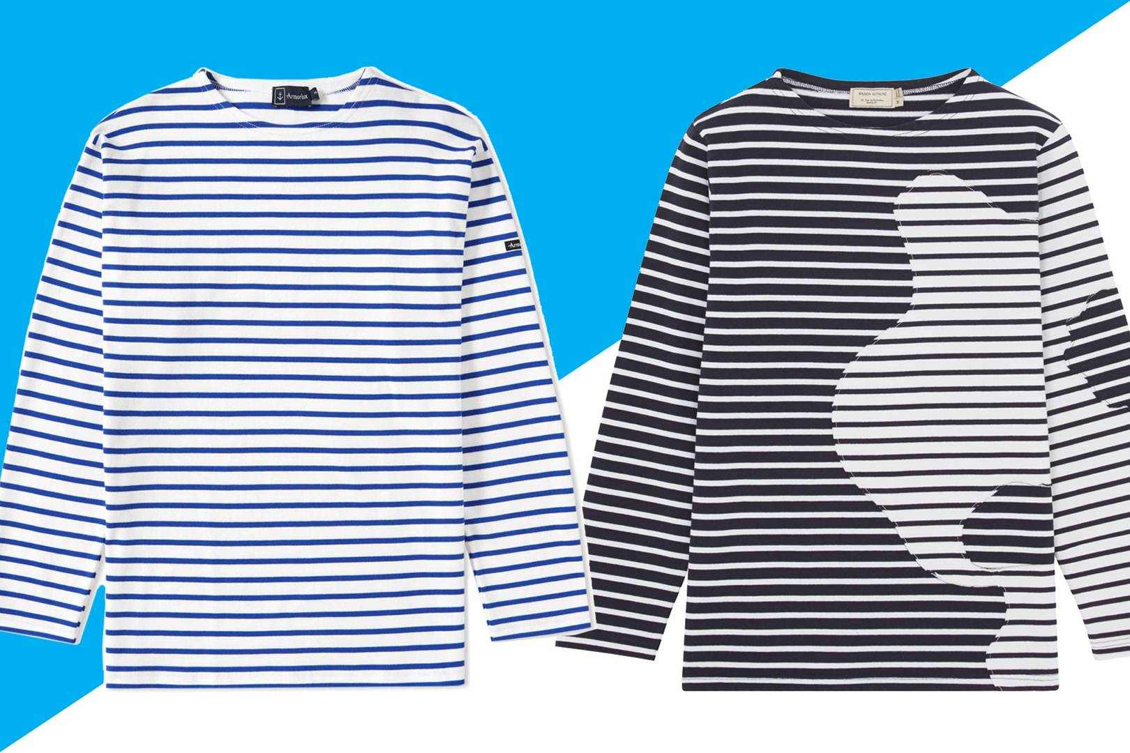 This Summers Best Breton Shirts British Gq Tendencies Tshirt Monday To Long Navy Xxl