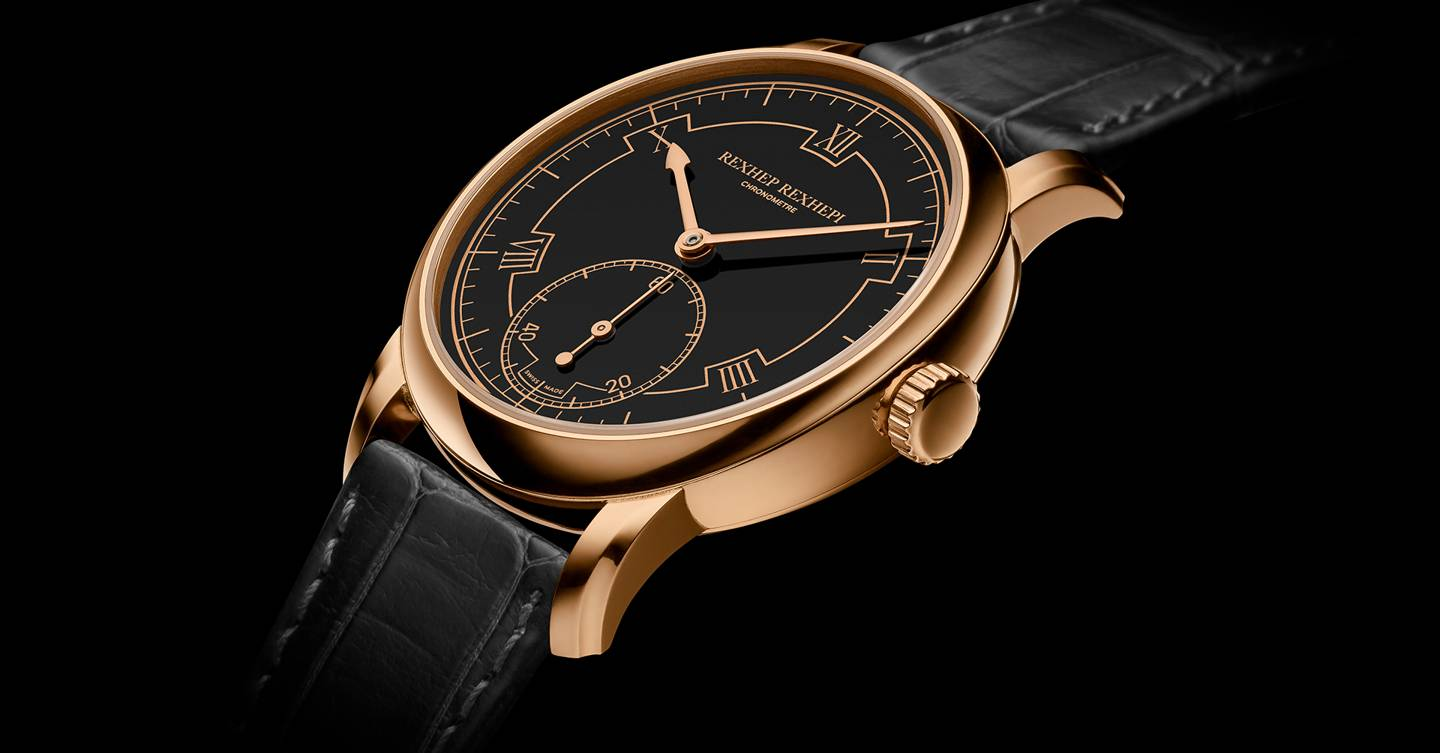 Rexhep Rexhepi is the new star of watchmaking
