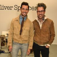 David Gandy and Larry King