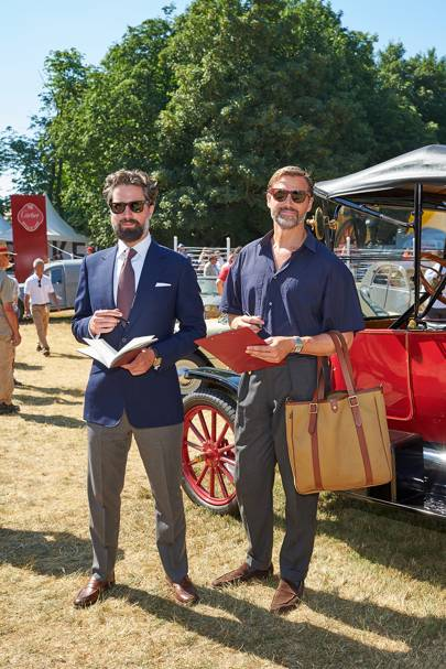 Jack Guinness and Patrick Grant