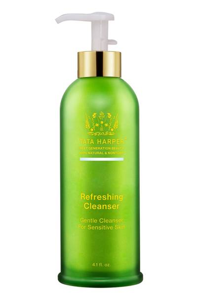 The cleanser: Refreshing Cleanser by Tata Harper