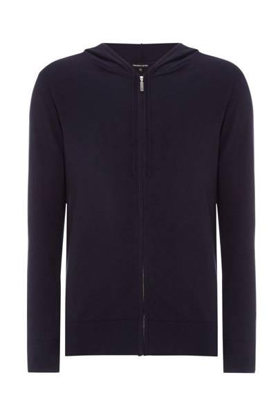 Bergano Greys cashmere hoodie