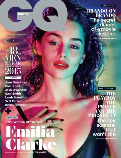 Emilia Clarke - October 2015