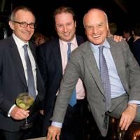 Guillaume Penot, Jo Thornton and Condé Nast International President, Nicholas Coleridge