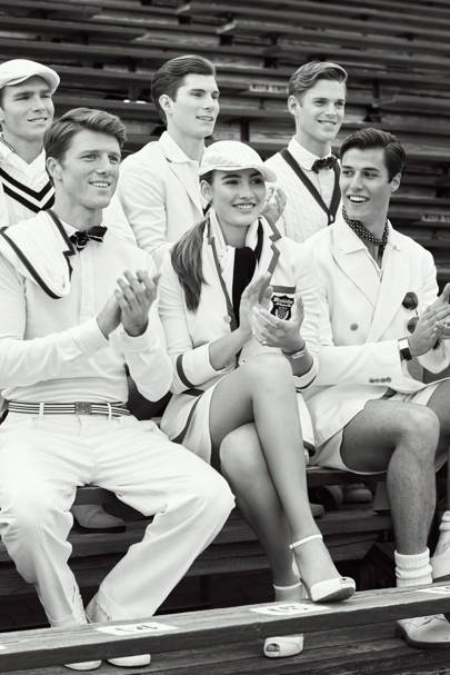 If Gatsby played tennis, you'd have Ralph Lauren's 10th ...
