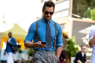 8e08e73c3c1e London Fashion Week Men s SS18  the strongest street style