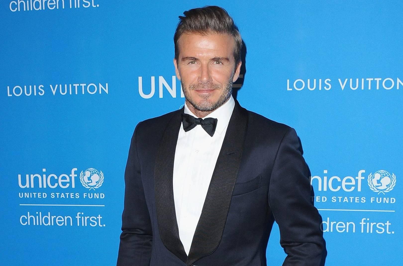 David Beckham Shows You How To Wear A Shawl Collar British Gq