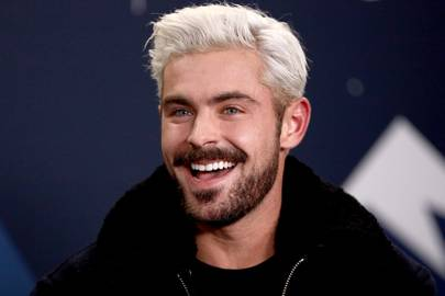 Zac Efron Just Dyed His Hair Blond How To Do Bright Right British Gq