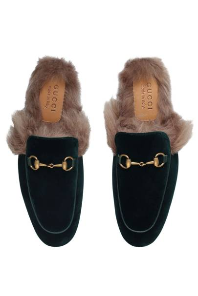Gucci 'Princetown' velvet loafers