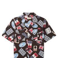 Maison Kitsune x Mr Porter collaboration shirt