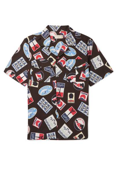 Maison Kitsune x Mr Porter collaboration shirt