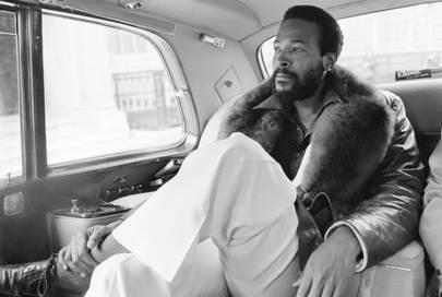 Marvin Gaye, London, 1976