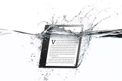 The new waterproof Kindle