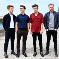 Tom Glynn-Carney, Fionn Whitehead, Harry Styles and Jack Lowden