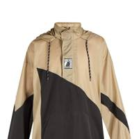 Double-hem windbreaker jacket by Balenciaga