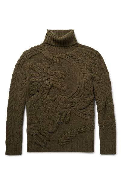 Ralph Lauren Purple Label cable knit jumper