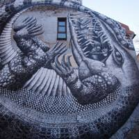 Phlegm's Alligator mural