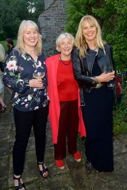 Gabrielle Walker, Rosie Boycott and Sophie Windham
