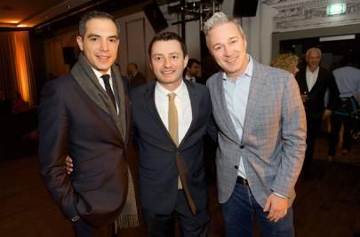Nicolas Jaouen, Mauricio Morelli and Ivan Crispo