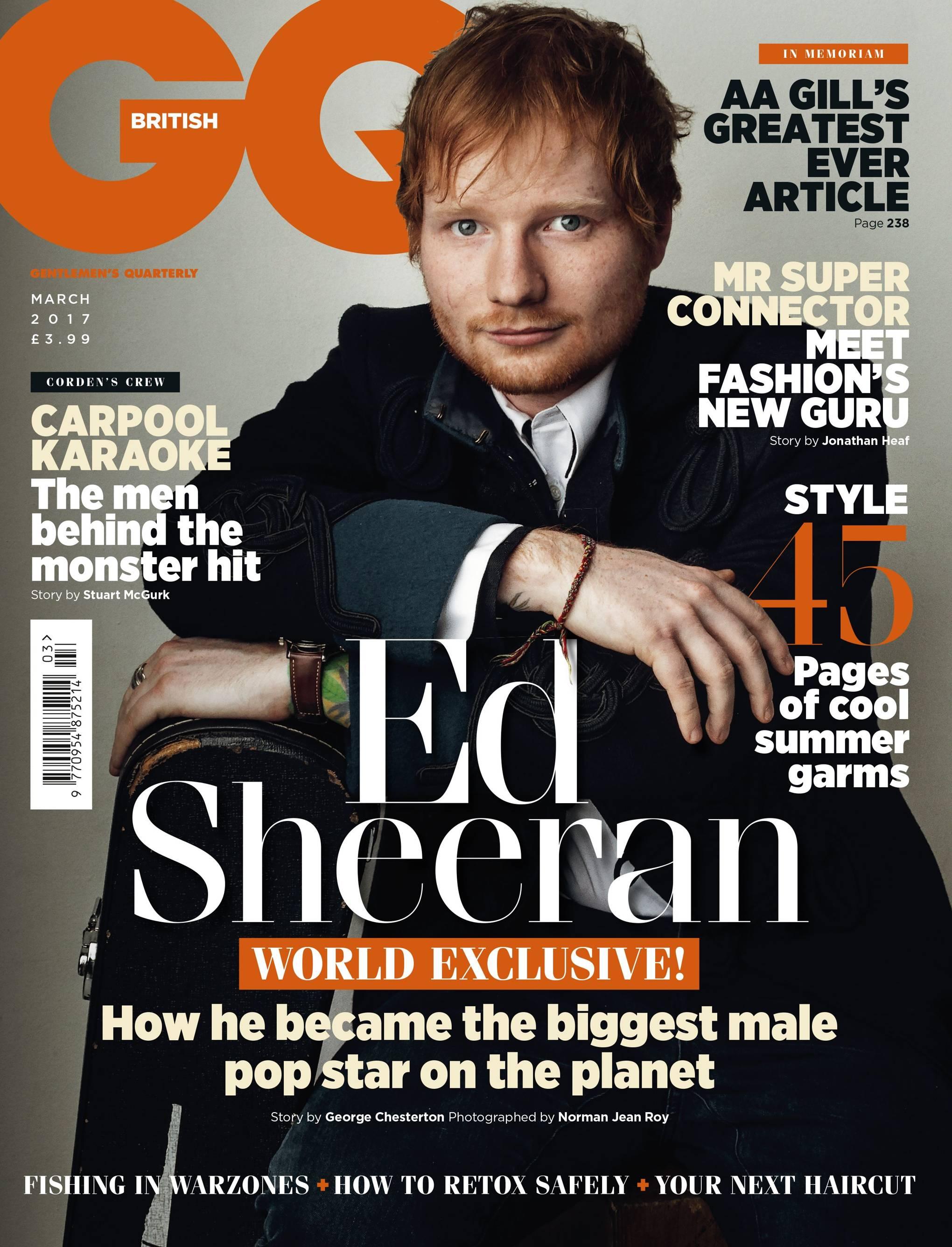 gq magazine march issue highlights british gq