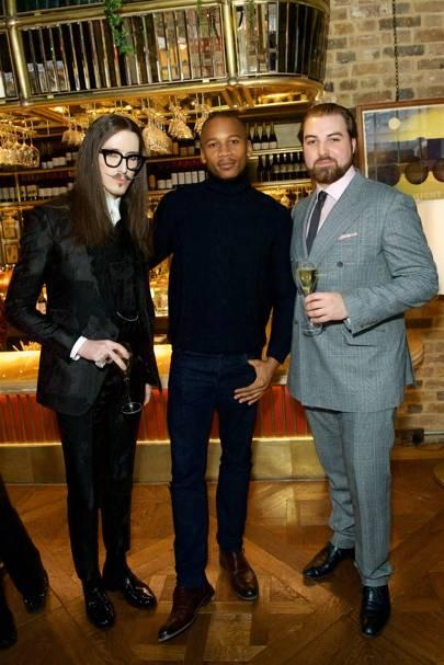 Joshua Kane, Eric Underwood and Willem Picon