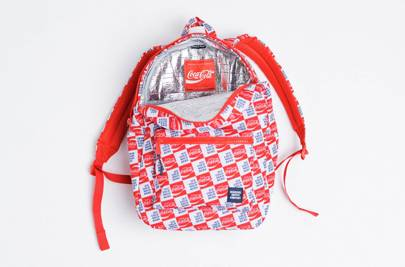 Herschel Supply x Coca Cola insulated backpack