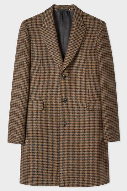 Paul Smith wool-blend overcoat