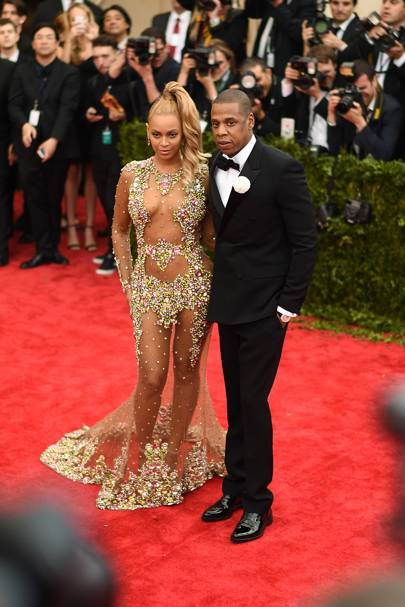 1. The ultimate power couple arriving at the Met Gala