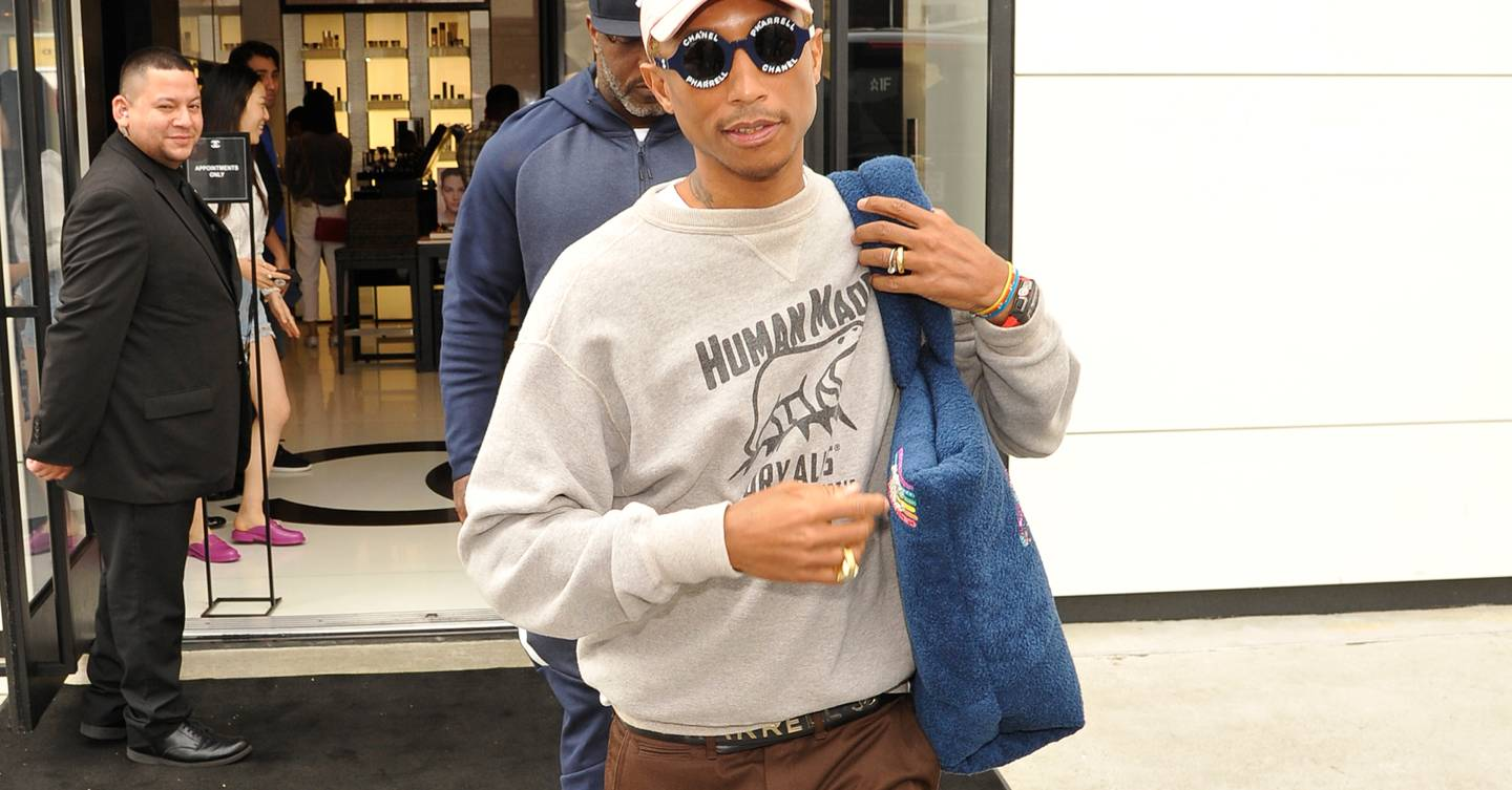 efa494fdfe8da Pharrell style  the singer schools you on schoolboy chic