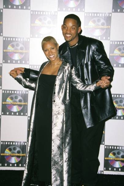 3. A compelling coat was key at the fourth annual Blockbuster Awards