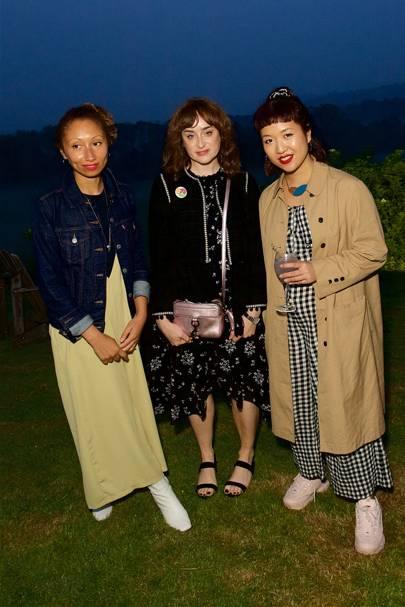 Emma Paterson, Lynn Enright and Charlene Teo