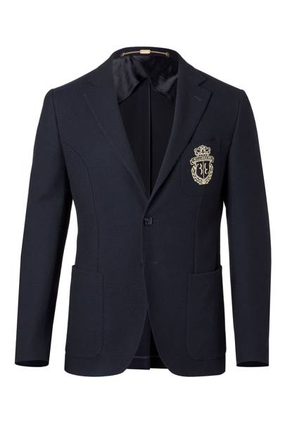 Billionaire 'New Chris' blazer