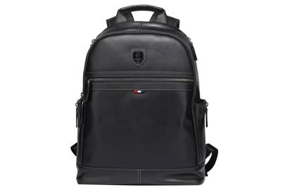 Leather Backpack by Bison Denim Co.