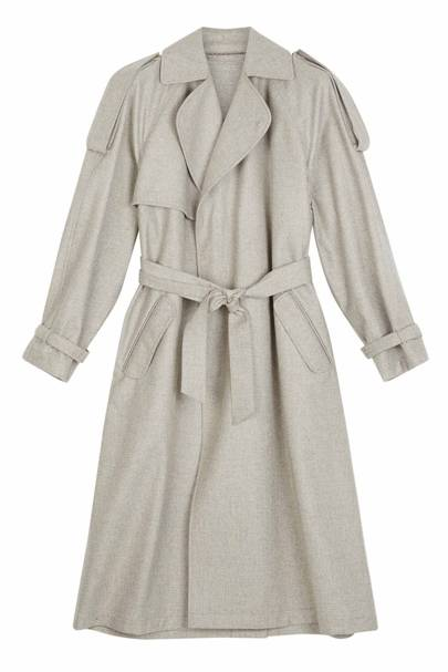 E Tautz trench coat