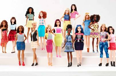 The more body-diverse 'Fashionista' Barbie dolls