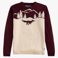 Joules Christmas Fox Jumper
