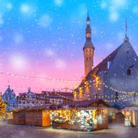 Best for guaranteed snow: Tallinn Christmas Market, Estonia