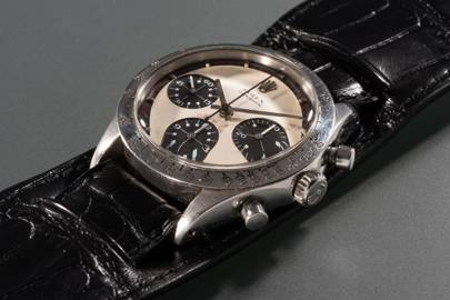 Paul Newman's Rolex Daytona sells for a record-breaking $17,752,500