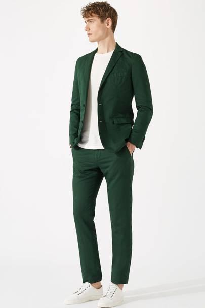 Jigsaw cotton-linen suit