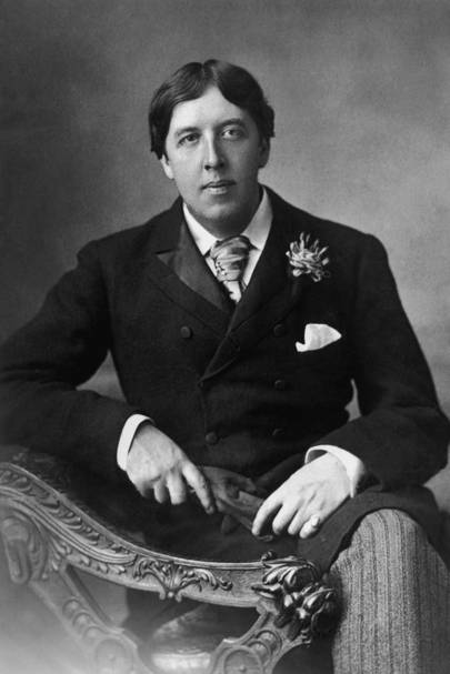 Oscar Wilde, playwright, novelist and poet