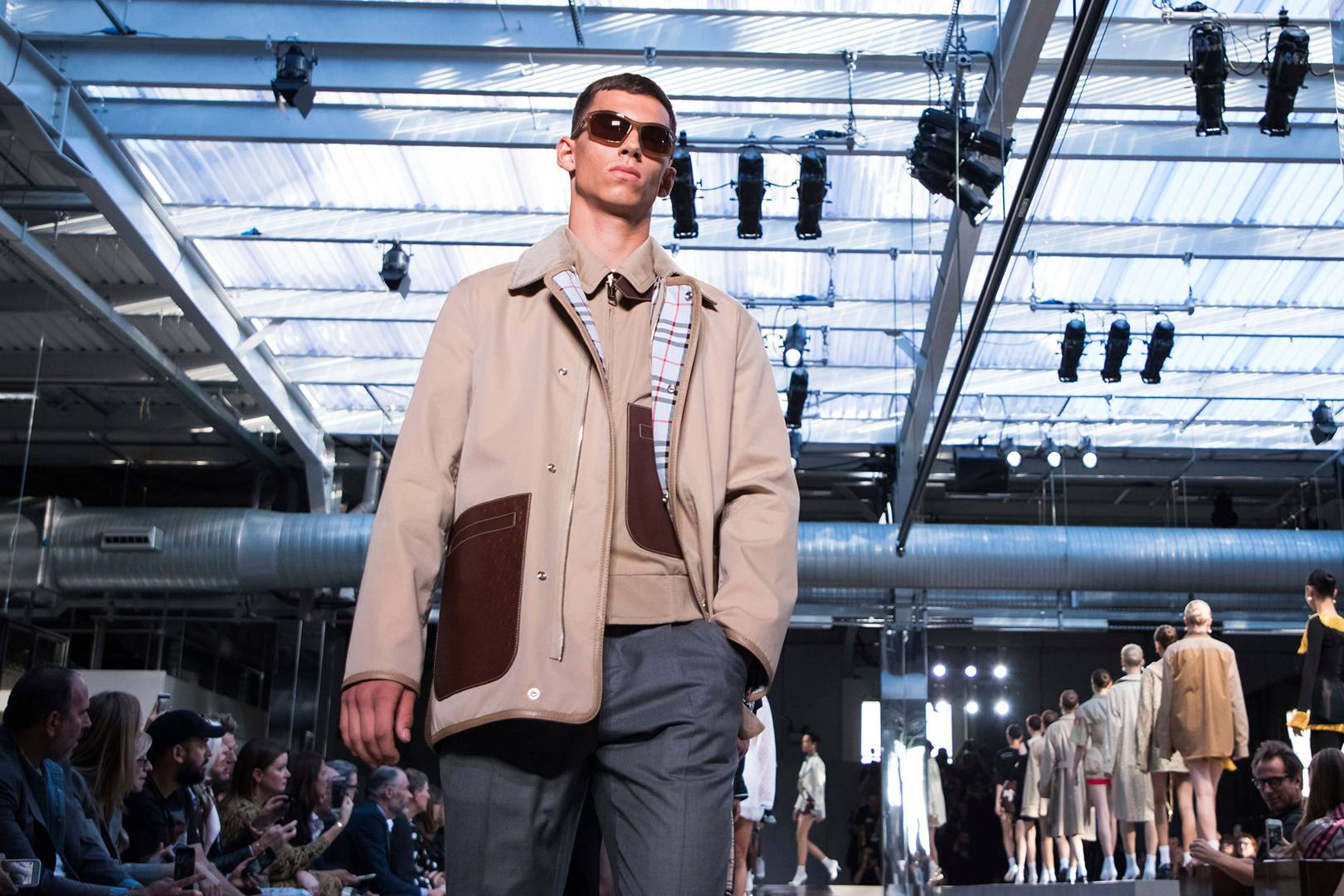 92df0a36cc Riccardo Tisci's first collection for Burberry | British GQ