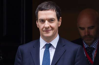 Chancellor of the Exchequer George Osborne MP leaves 11 Downing Street