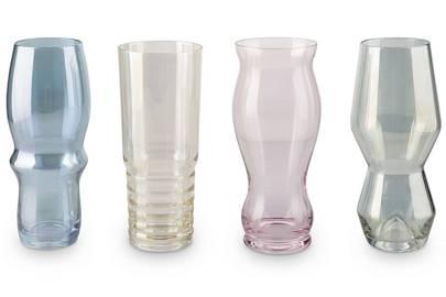 Oliver Bonas Kiilto coloured highball glasses