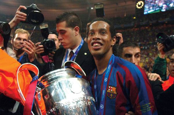 Ronaldinho on life at Barcelona, Manchester United, and that freekick against England