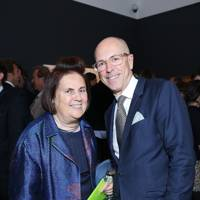Suzy Menkes and Dylan Jones